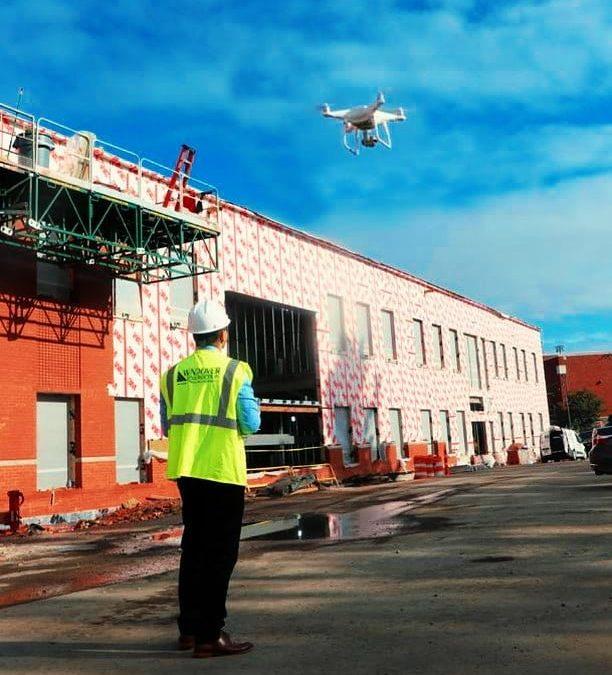 Drones para supervisión de obras